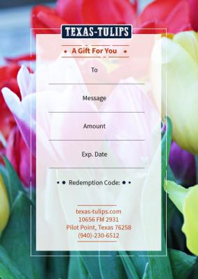 Texas-Tulip-Gift-Certificate-V2 Large
